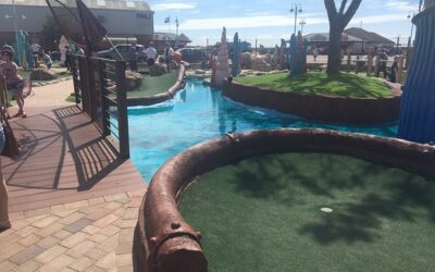 Sienna Stains and Colorfresh Intensiv protects Adventure Golf