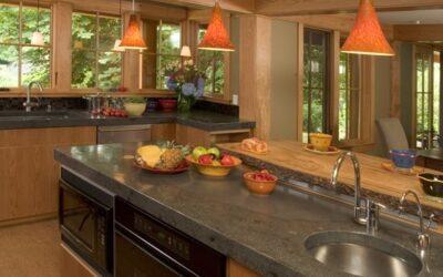 Enabling concrete surfaces in food preparation